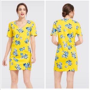 Draper James Yellow Sumerall Hillsboro Dress
